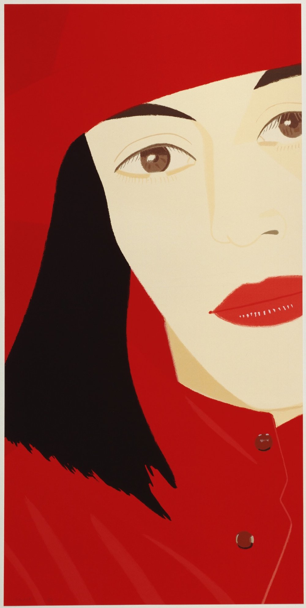 Red Coat , Alex Katz Museum of Modern Art (MoMA), 1983