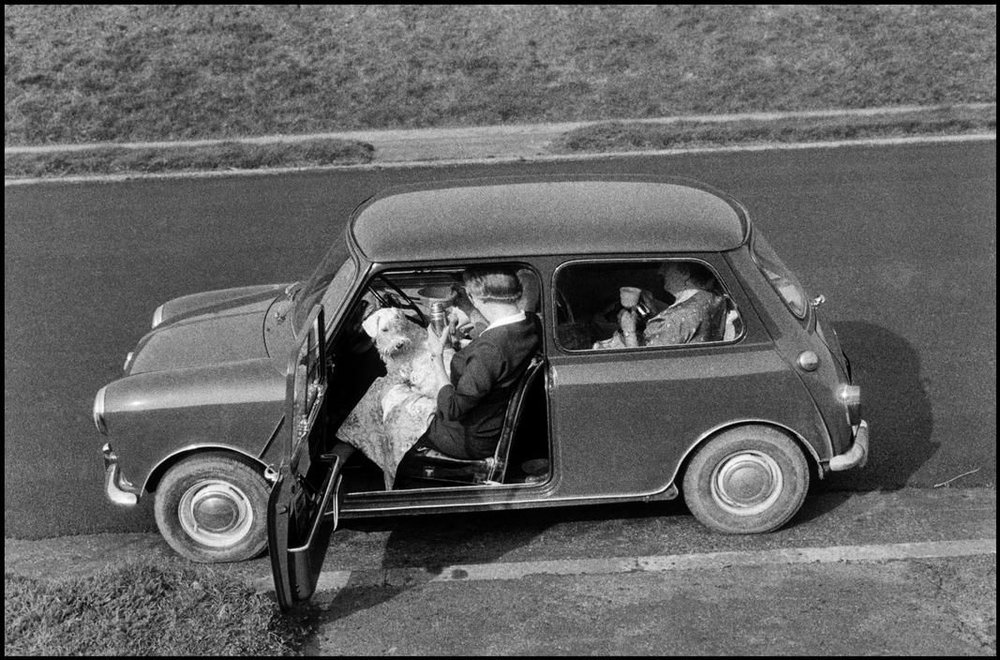 Teatime In The Car , Bruce Davidson Magnum Photos, 1960