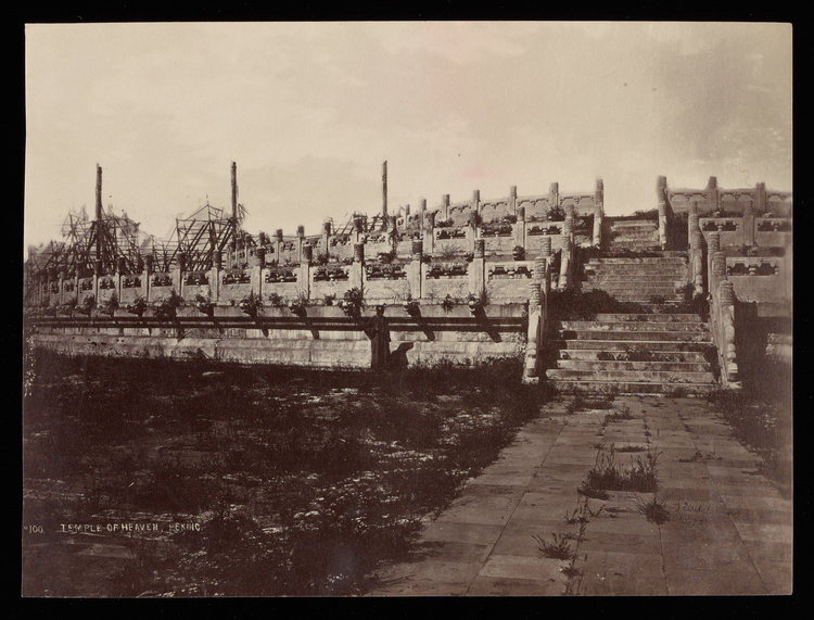 Temple of Heaven, Peking , Thomas Child Getty Research Institute, c. 1870s