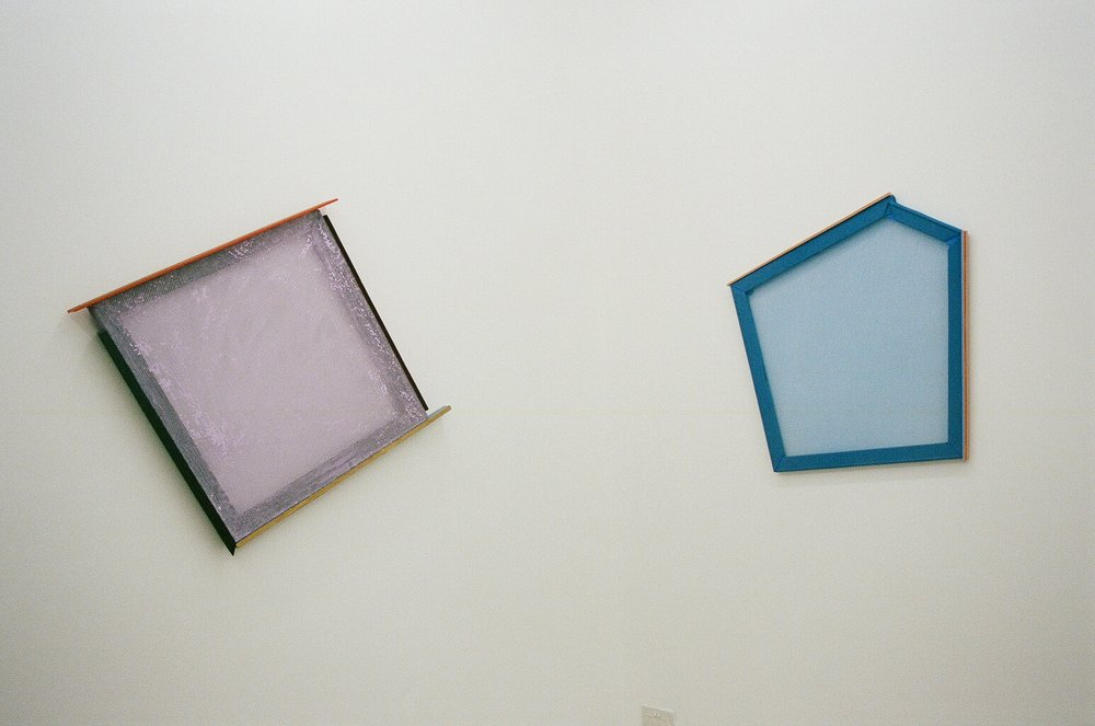 Composition 33  (L) and  Composition 31  (R),HelenA Pritchard 2018, Installation View
