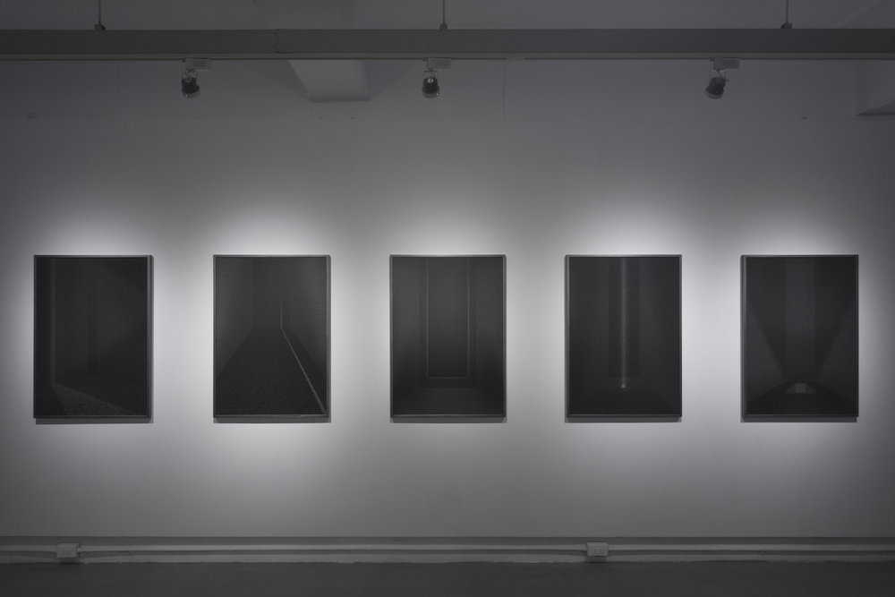 Lockdown Universe , Chunghsuan Lan 2018, Aki Gallery Installation View  Photograph from the artist