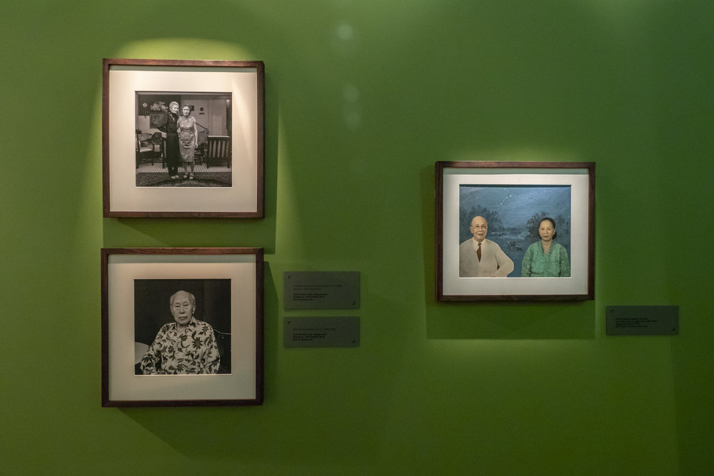 Amek Gambar: Peranakans and Photography  2018, Installation View  Credit: The Peranakan Museum