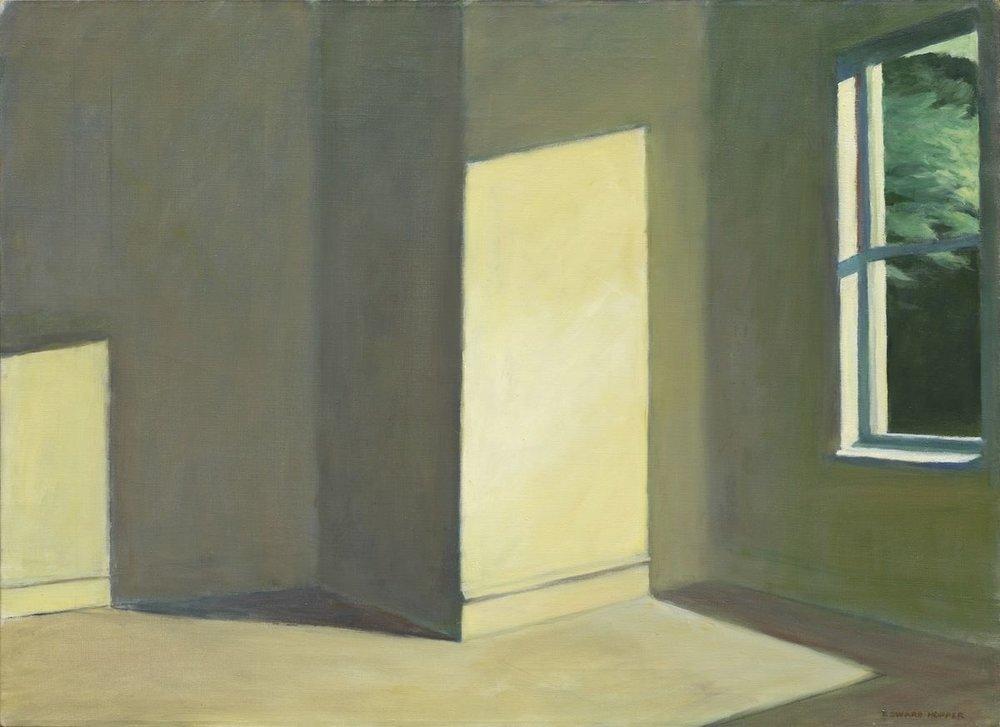 Sun In An Empty Room , Edward Hopper Whitney Museum of American Art, 1963
