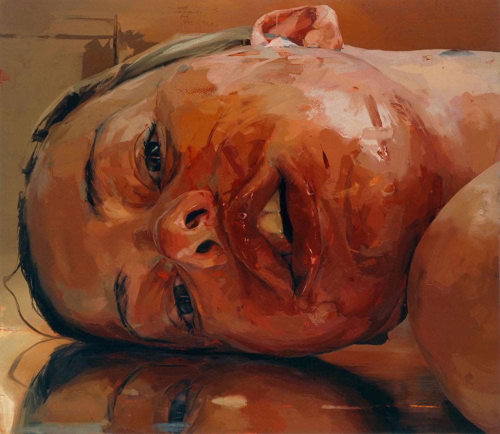 Reverse , Jenny Saville Gagosian, 2003