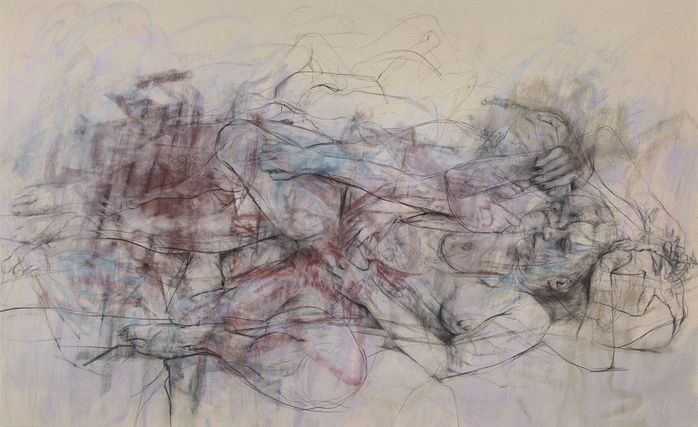 Ebb and Flow , Jenny Saville Ashmolean Museum, 2015