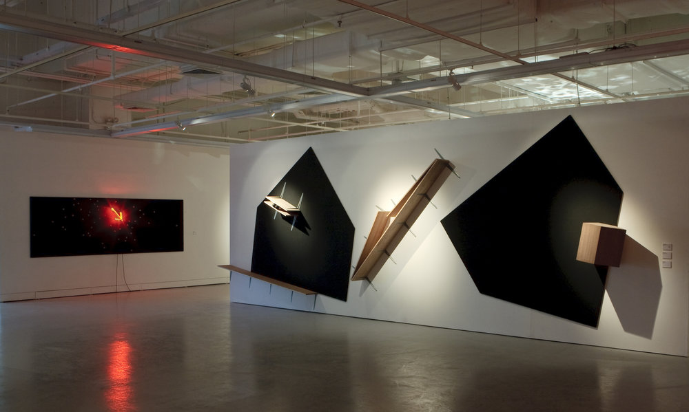 To Be Continued , Roberto Chabet 2011, Installation View at Institute of Contemporary Art Singapore