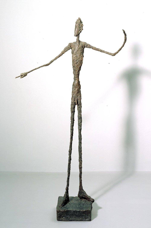 Man Pointing,  Alberto Giacometti Tate, 1947