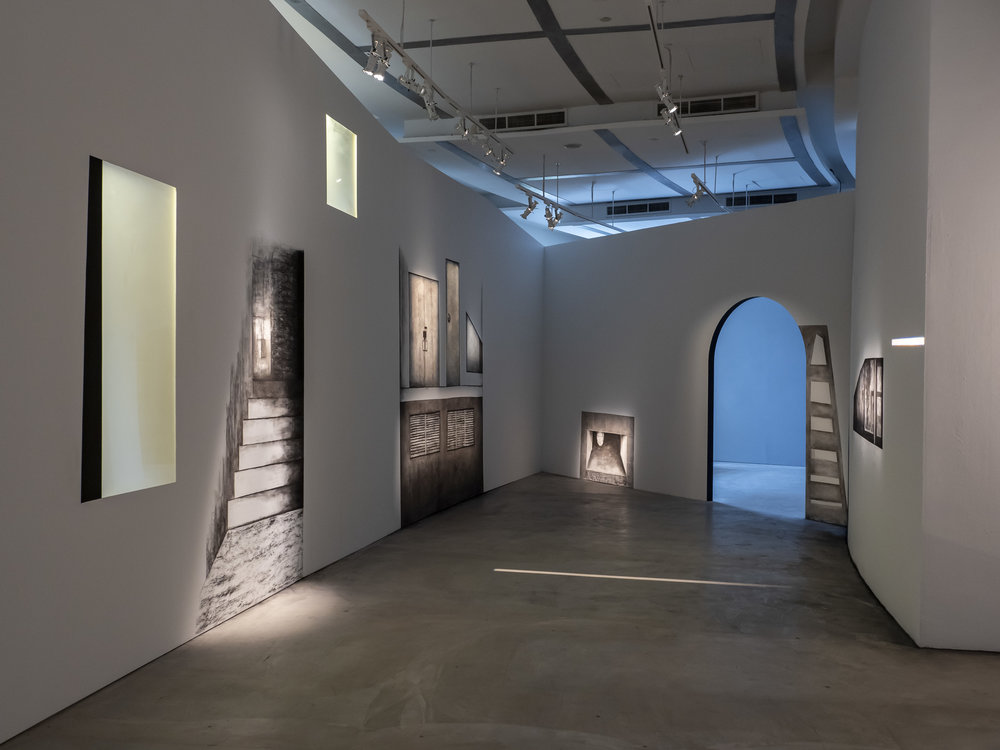 An Other Space《另•外•空間》 , Tang Ling Nah 2018, Courtyard Installation View at Jendela Visual Art Space  Photography by Esplanade – Theatres on the Bay