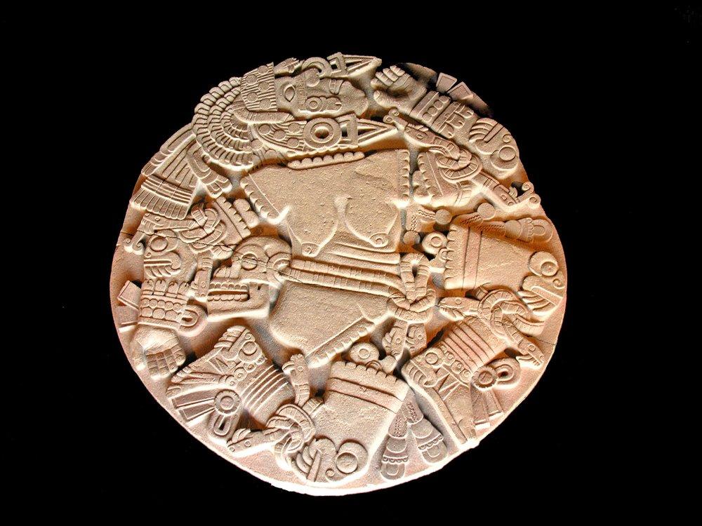 Great Coyolxauhqui Stone  Museo del Templo Mayor, c. 1473