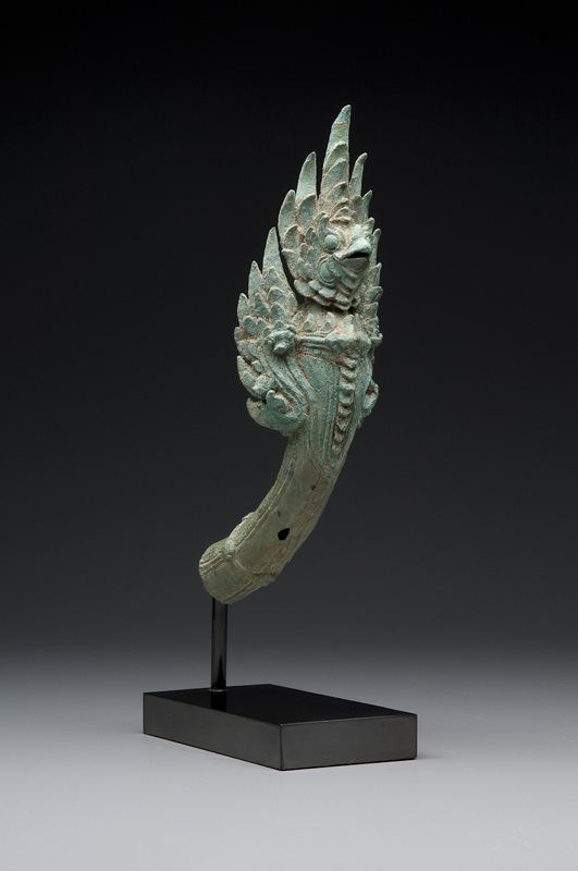 Finial with Garuda and Naga  Honolulu Museum of Art, c. 12th century
