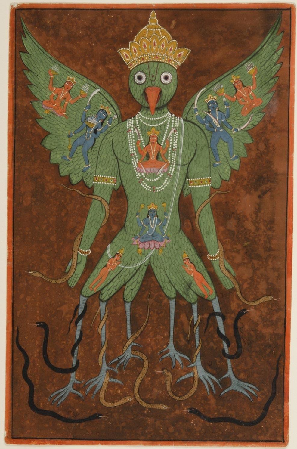 Tantric Painting of Garuda  Philadelphia Museum of Art, c. 19th century