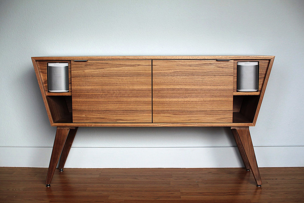 The Octave Modern Stereo Credenza