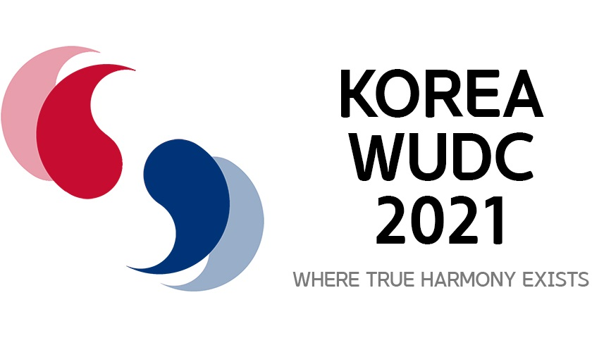 Tournament Schedule - Debaters will be fully engaged in fruitful debates about issues that are significant in the global society in WUDC Korea 2021.