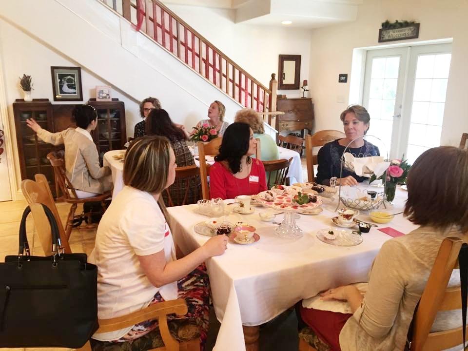 women's tea retreat event prunedale