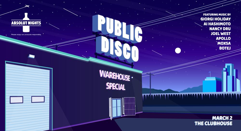 Public Disco Warehouse Special