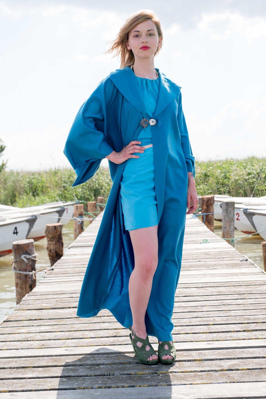 Kimono 'Blaue Lagune'