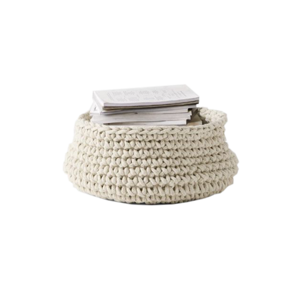 Crochet Basket   AURA HOME