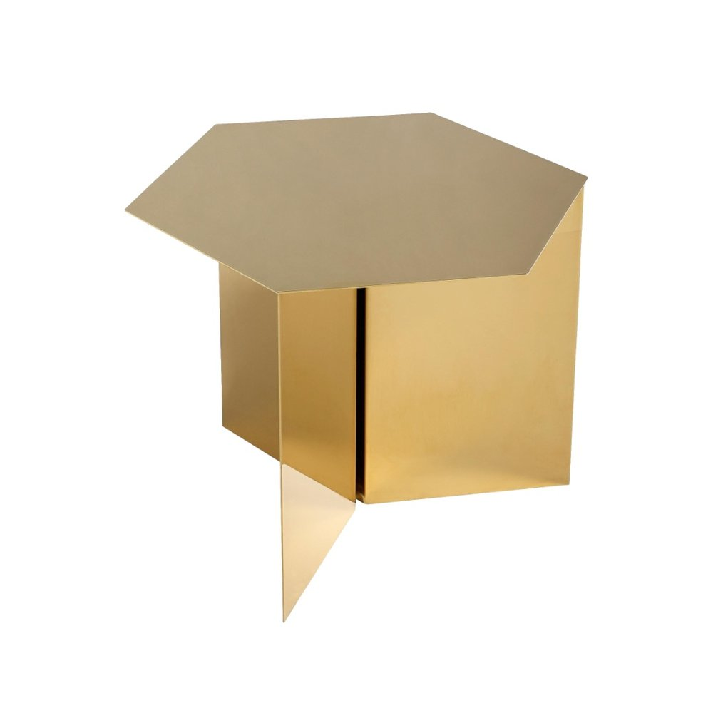 Hay Slit Table - Gold   CULT