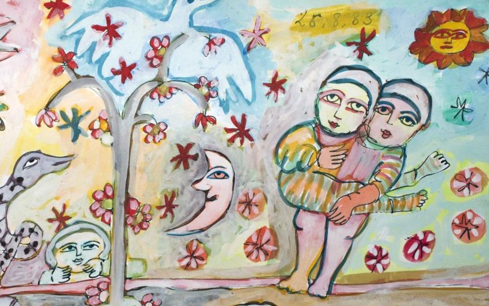 Mirka Mora:Pas De Deux - Drawings And Dolls - Her private collection