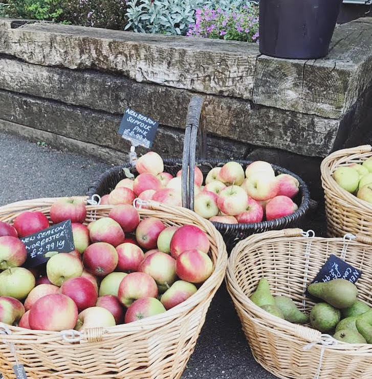 Apples and pears at Drove Orchards