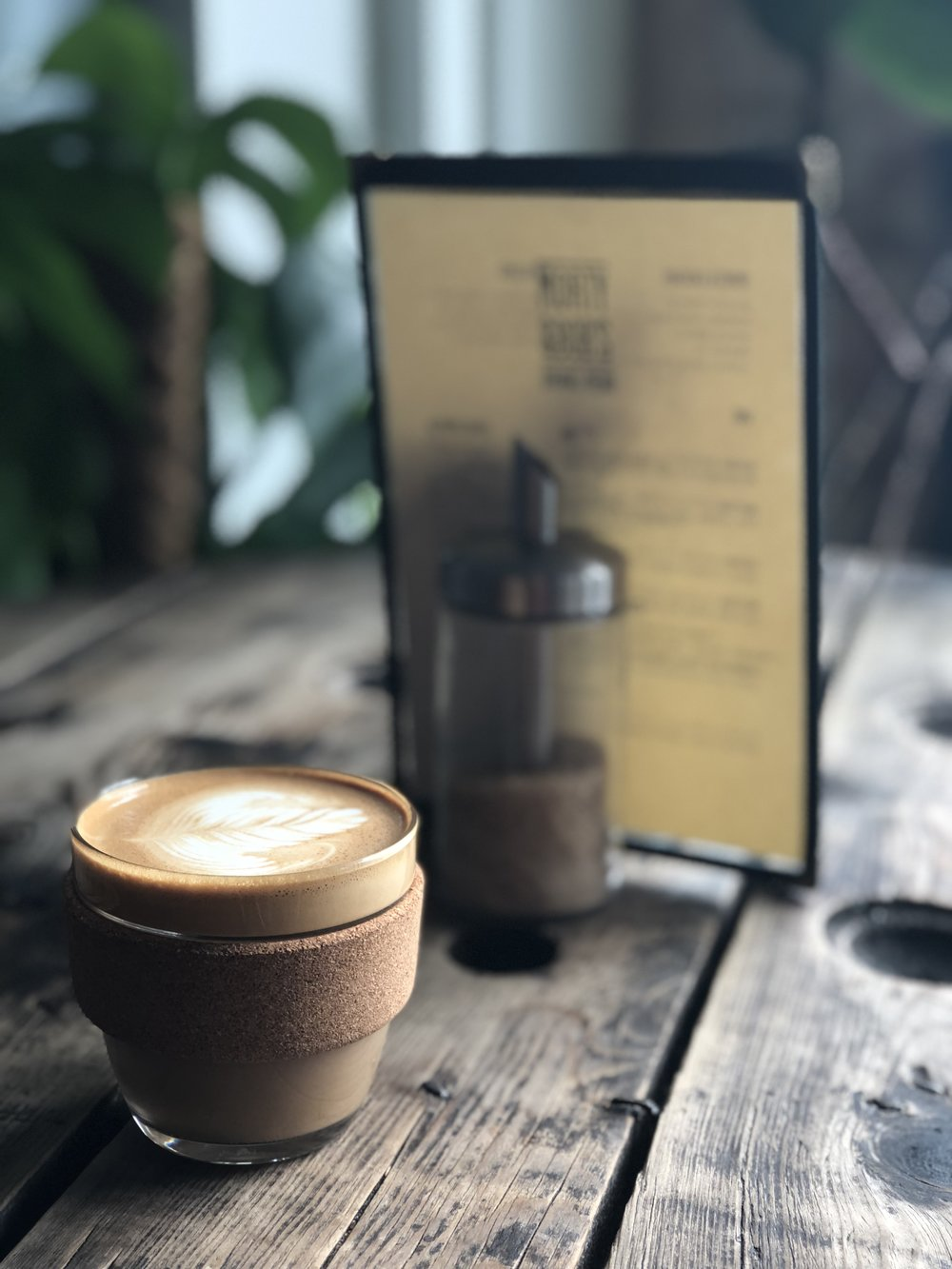 KEEPCUPS - We have some beautiful 8oz and 10oz KeepCups available to purchase in the cafe. We are so keen to get people to start using reusable cups we're even offering a free coffee when you buy one