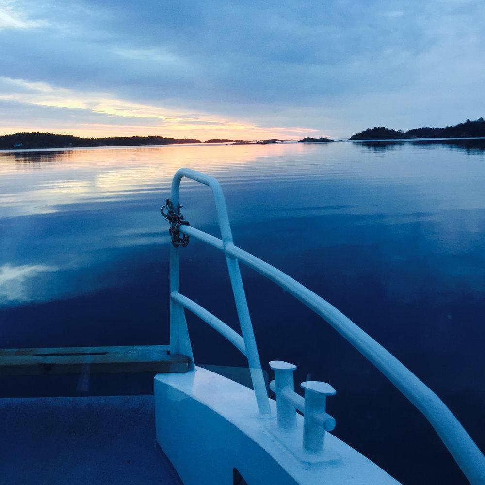 Priser rutebåt - Voksne: 48,-Barn/Honnør: 25,-AKT verdikort kan benyttes.