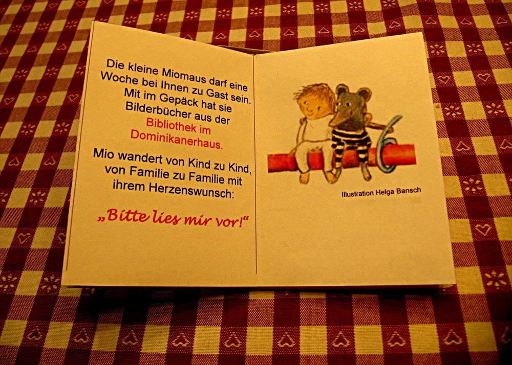 Minibook - Elternbrief