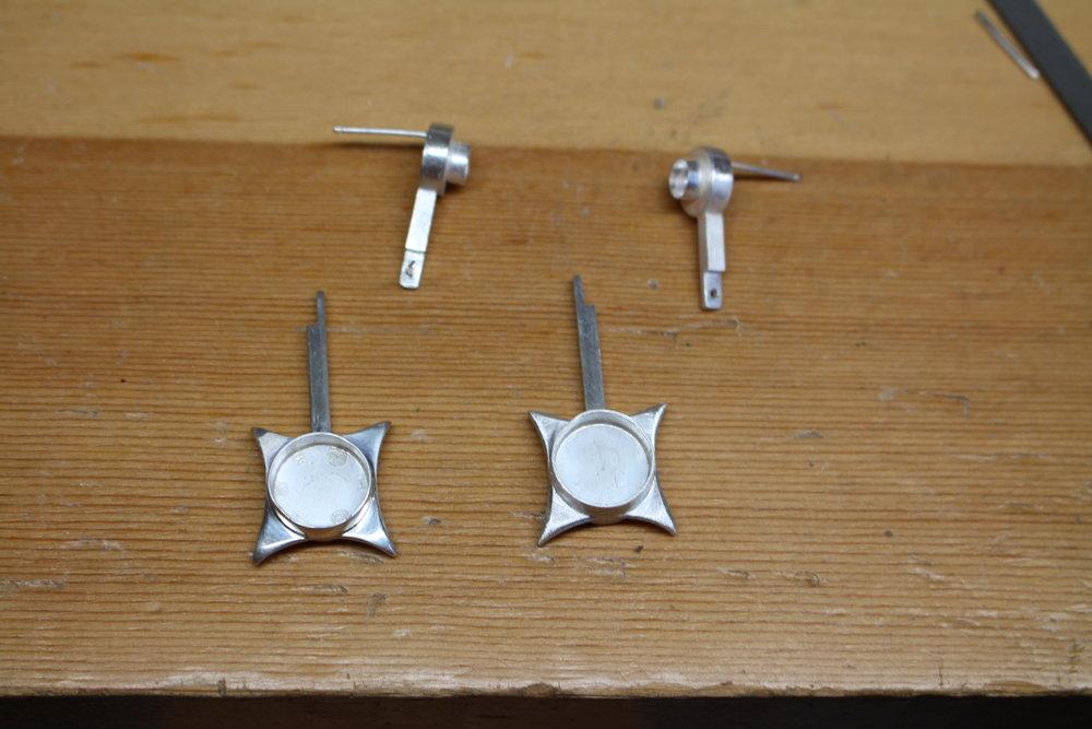 Shaping the star bottom of earring.jpg