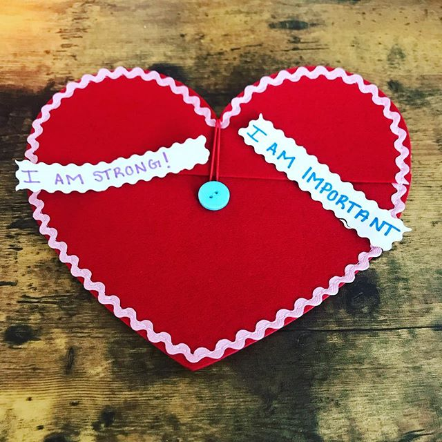 SELF LOVE is in the air at Cincinnati Renewed Wellness! ❤️ One of our missions with working with kids is to instill self love and empowerment in every session. We love getting creative in our therapy sessions! Valentines Day is right around the corner and our wellness warriors have been working on their own pocket full of SELF LOVE notes. What are you doing to show yourself love? 💜 . . #selflove #selfcare #imimportant #strength #wellness #valentinesday #cincinnati