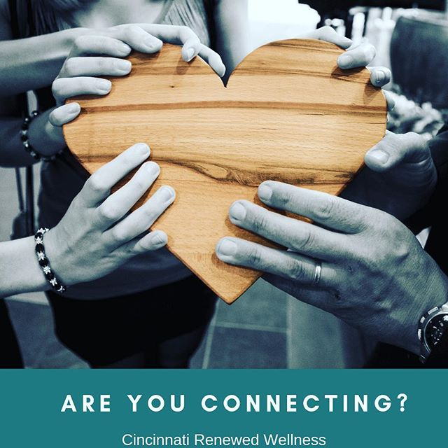 What are you doing to make positive & fulfilling connections with others? In the spirit of Valentine's Day 💕, we encourage you to take time to connect with your community. Your community may consist of your friends, family, neighbors, coworkers, etc. Maintaining your strong connections with your tribe will allow you to move through the mud of life a bit easier. Lastly, take time to return love within. You are strong 💪🏼 . You are important. You are NOT alone. ❤️ . . . #happyvalentinesday #connection #love #selflove #findyourtribe #community #mentalhealth #wellness #selfcare #cincinnati