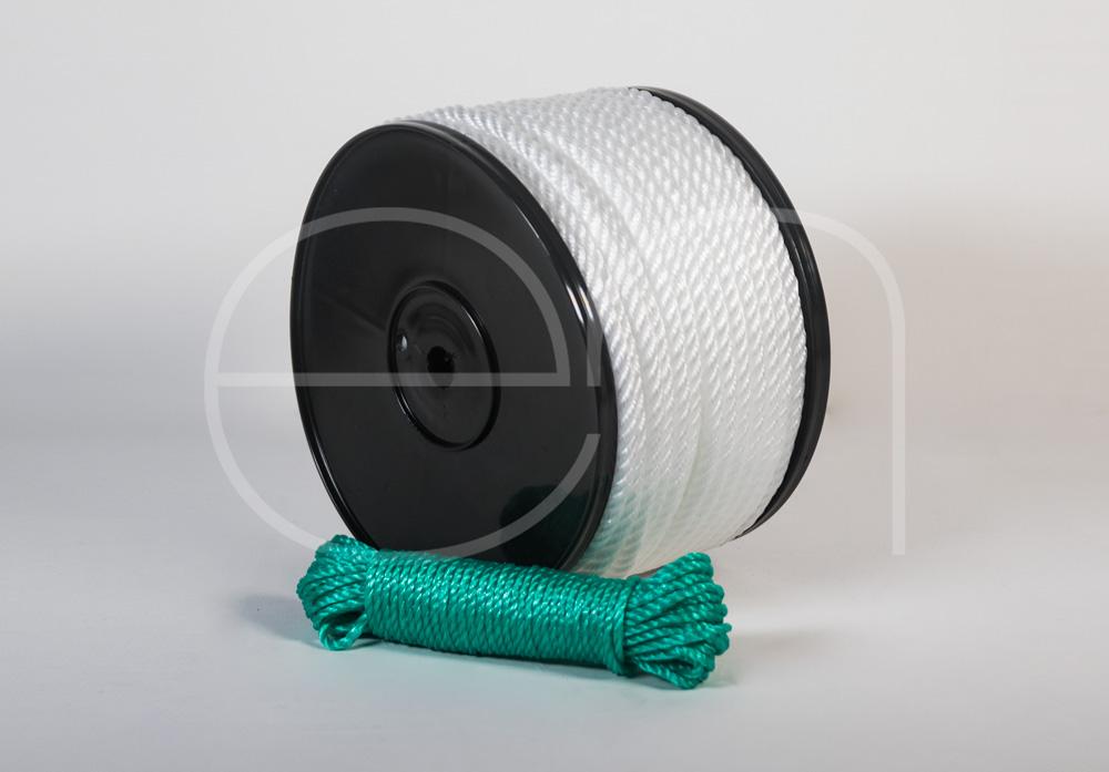 cuerda torcida de polietileno -