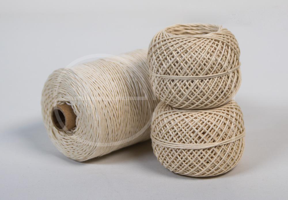 hilo de algodón pulido -