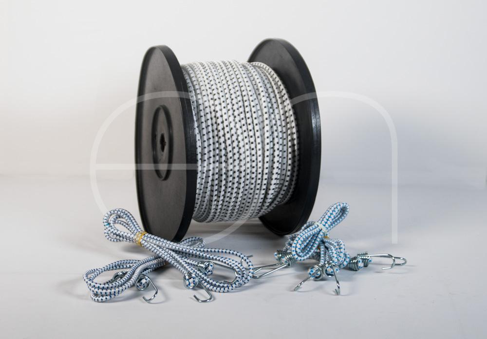 cuerda elástica -