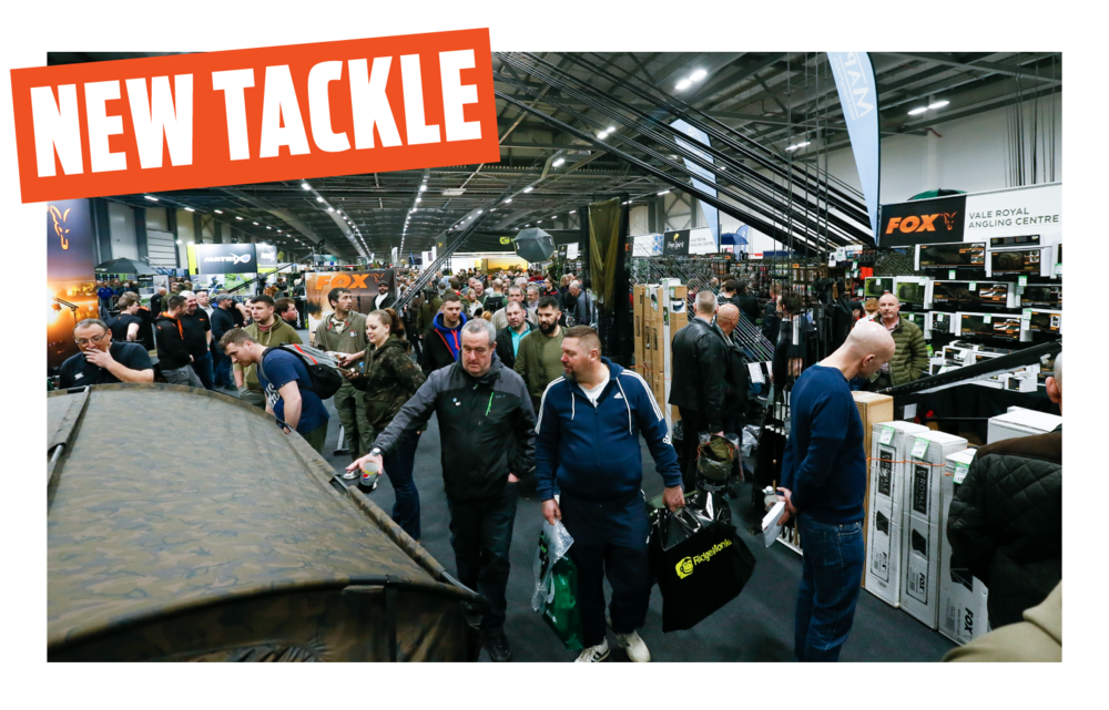 TACKLE EXTRAVAGANZA   The world's biggest and best tackle manufacturers have signed up for The Big One Show in Farnborough – and they're all bringing their new gear for 2019. This will be the first opportunity for you get your hands on the new season's kit and get buying advice from the experts who created it. From big-ticket items like rods and reels, poles and boxes, to bivvies, bait and thousands of cutting-edge accessories, you'll find everything you need for a successful season.