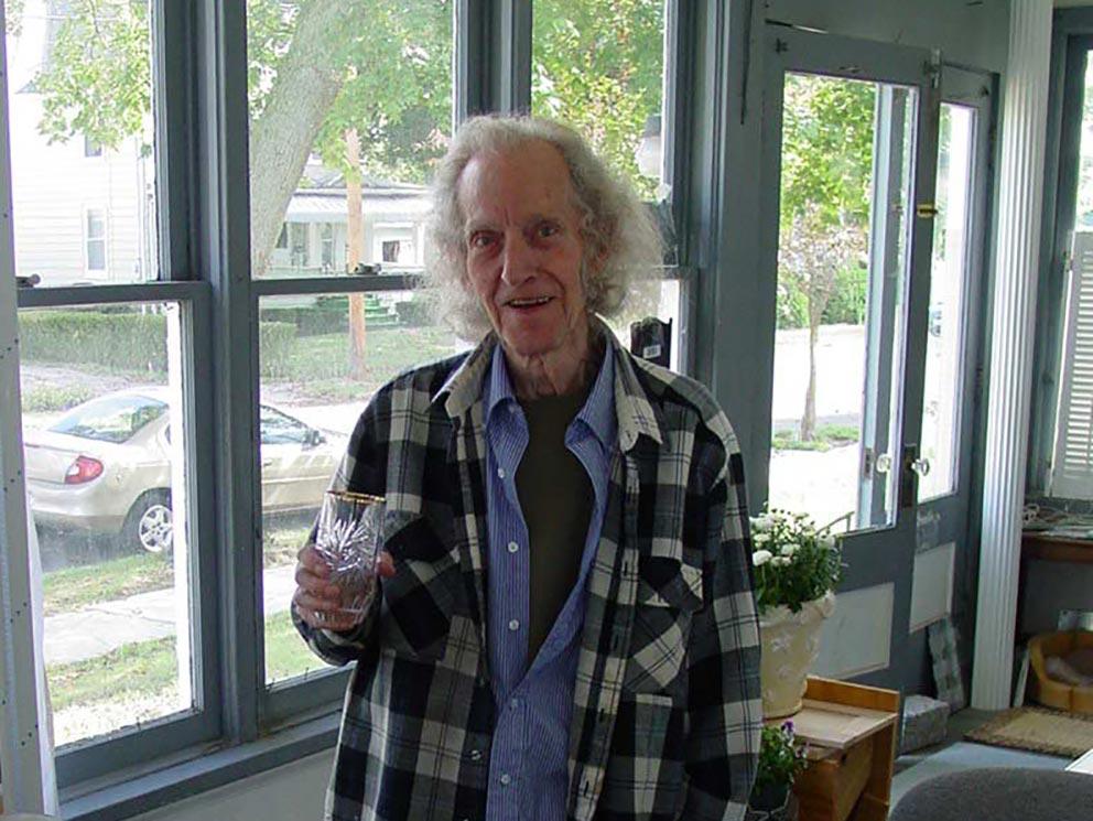 - Rob Butts bei unserem Treffen in seinem Haus in Sayre in der Nähe von Elmira.