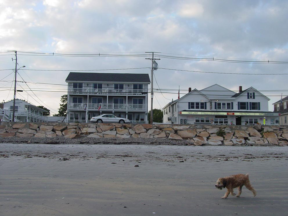 - York Beach in Maine - Impressionen.