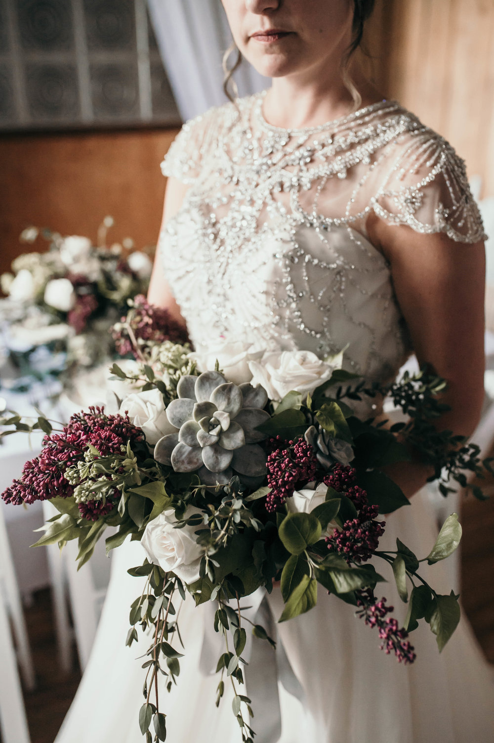 Intimate Lilac Wedding -