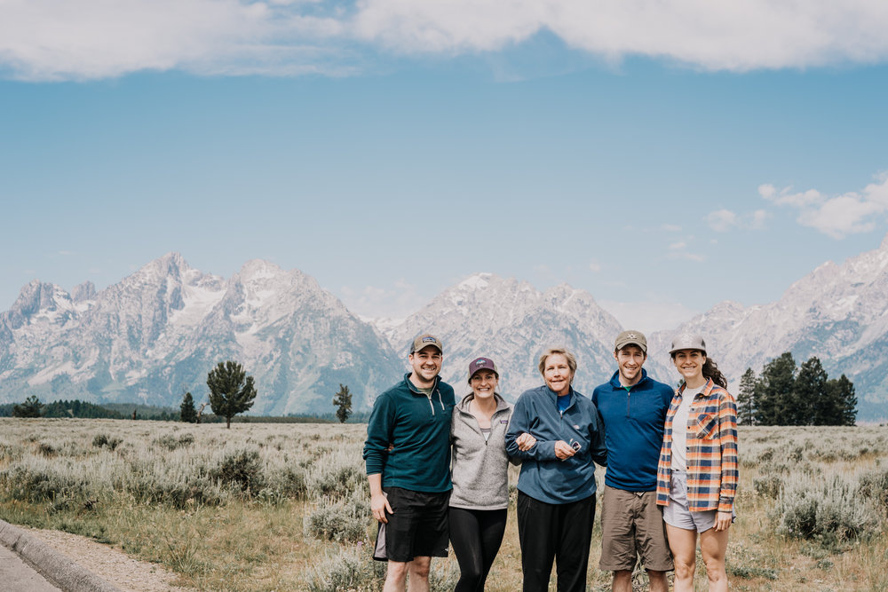 We celebrated Momma Lane's 60th birthday this year up at Grand Teton National Park with Trevor & Sarrah. In true Lane fashion, the food and chatting couldn't be beat. Both the memories and the views were truly grand.