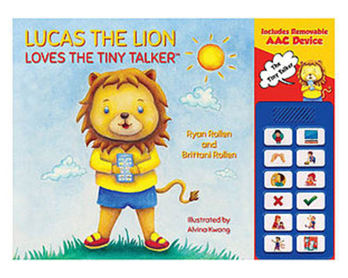 Lucas the Lion Loves the Tiny Talker