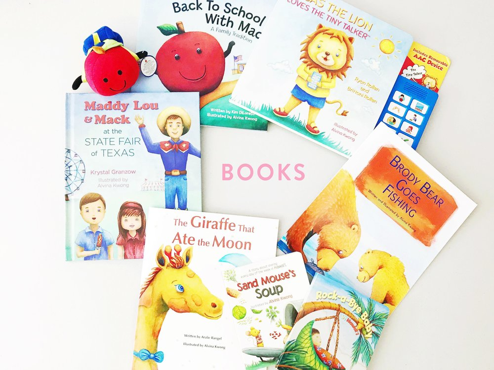 Alvina Kwong Illustrated Books