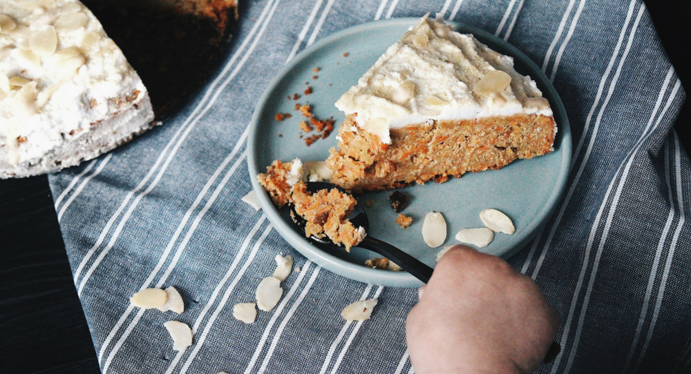 Grain-free Carrot Cake - Fit Chick Bakery