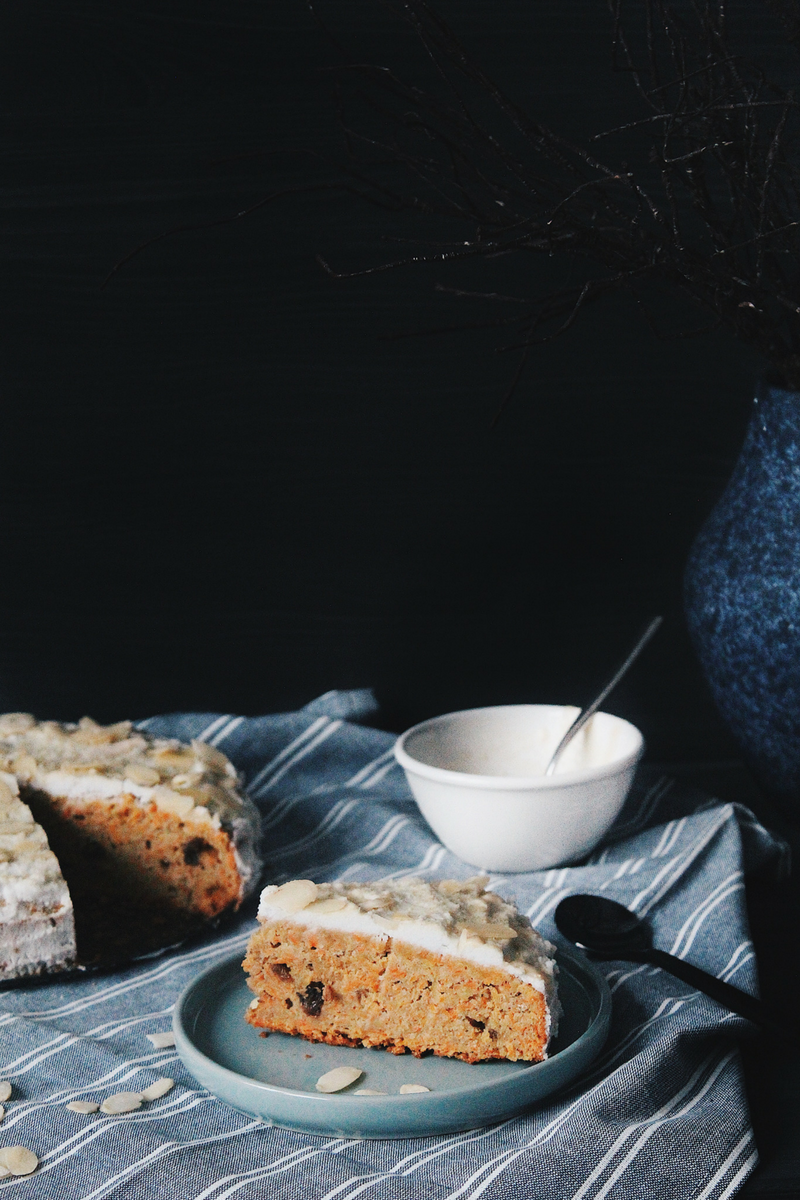 Grain-free and Sugar-free Carrot Cake - Recipe - Grain-free, Gluten-free and Sugar-free - Low Carb, Paleo and Keto - Fit Chick Bakery