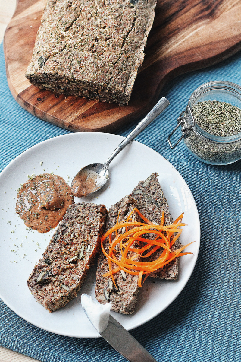 Grain Free Vegan Buckwheat Bread
