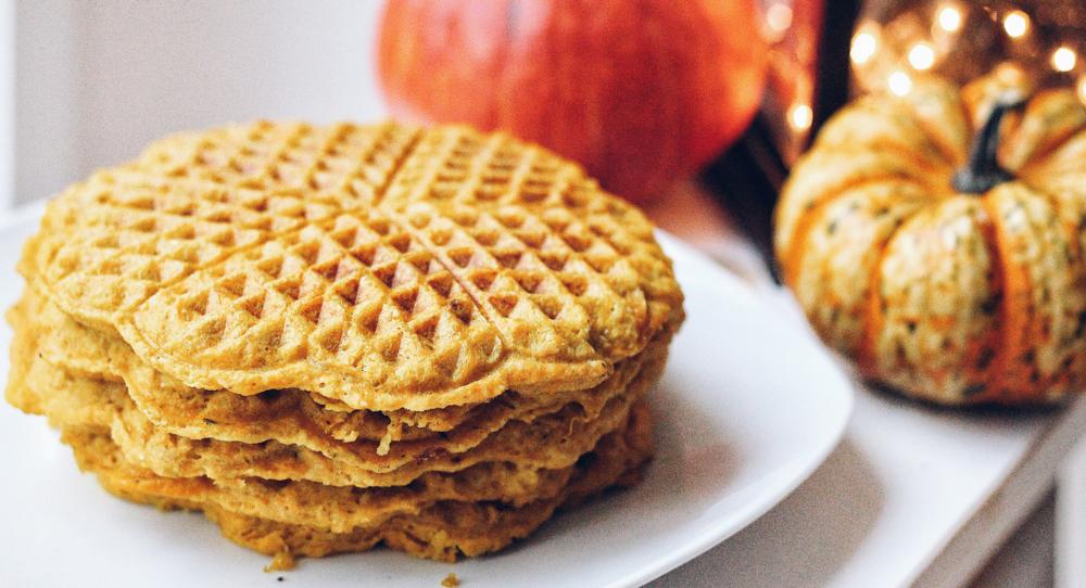 Grain Free Pumpkin Waffles