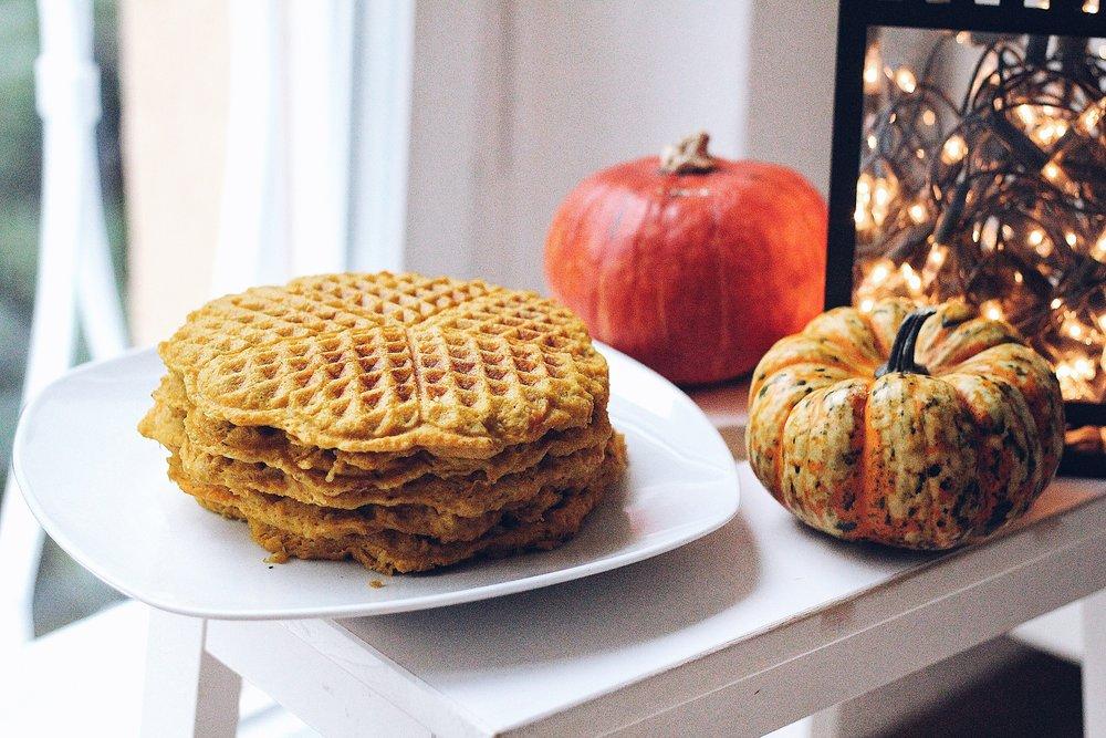 Grain-Free Pumpkin Waffles