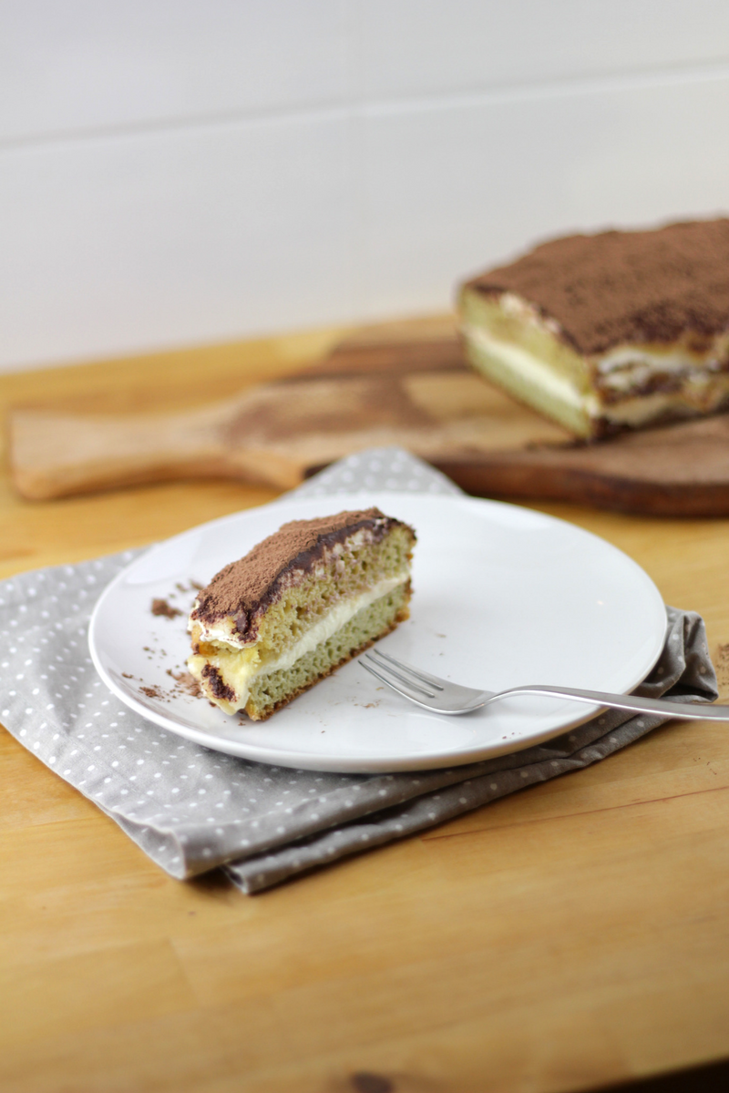 Grain-free Tiramisu - sweetened with sugar-free applesauce - Recipe - Grain-free, Gluten-free and Sugar-free - Low Carb, Paleo and Keto - Fit Chick Bakery