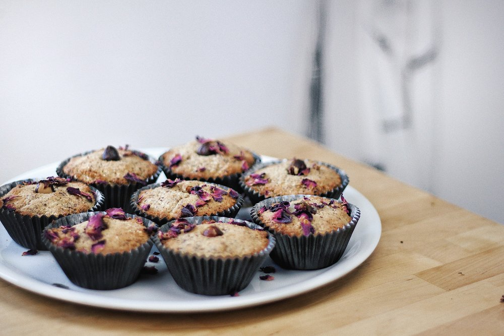 Gluten-Free Hazelnuts Cupcakes - Recipe - Grain-free, Gluten-free and Sugar-free - Low Carb, Paleo and Keto - Fit Chick Bakery