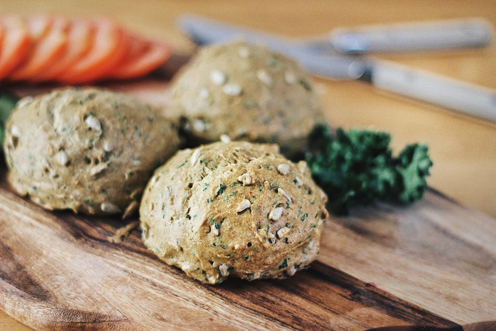 Grain-Free Flourless Rolls - Recipe - Grain-free, Gluten-free and Sugar-free - Low Carb, Paleo and Keto - Fit Chick Bakery