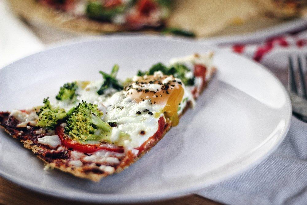 Low Carb Vegetarian Pizza
