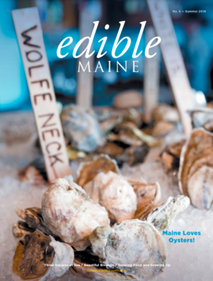 we were featured in edible maine's summer 2018 issue, check it out -
